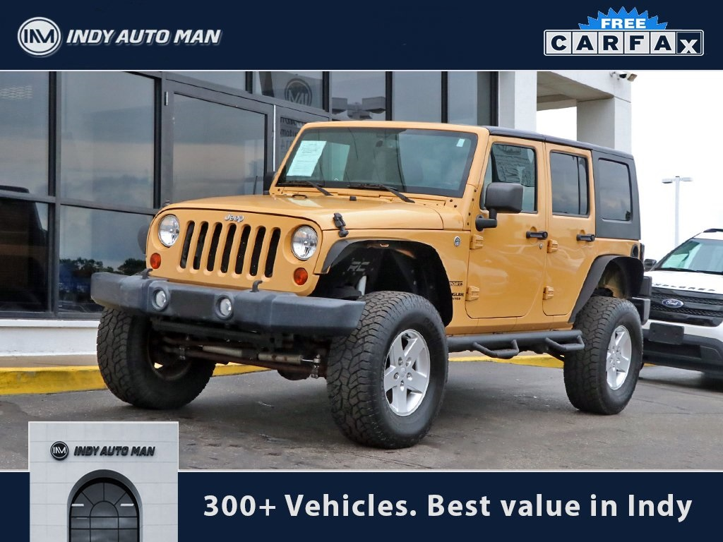 Pre Owned 2013 Jeep Wrangler Unlimited Sport 4wd