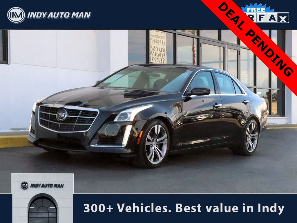 Pre owned 2014 cadillac cts 3 6l twin turbo vsport premium rwd 4d sedan