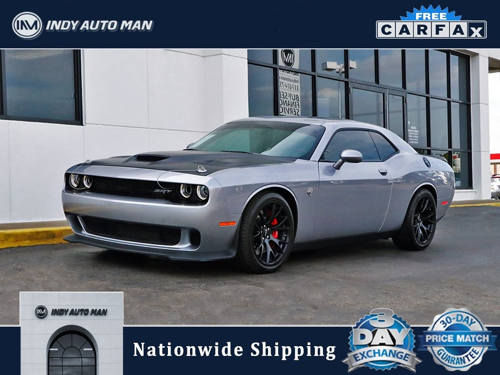 2016 Dodge Challenger Hellcat >> Pre Owned 2016 Dodge Challenger Srt Hellcat With Navigation