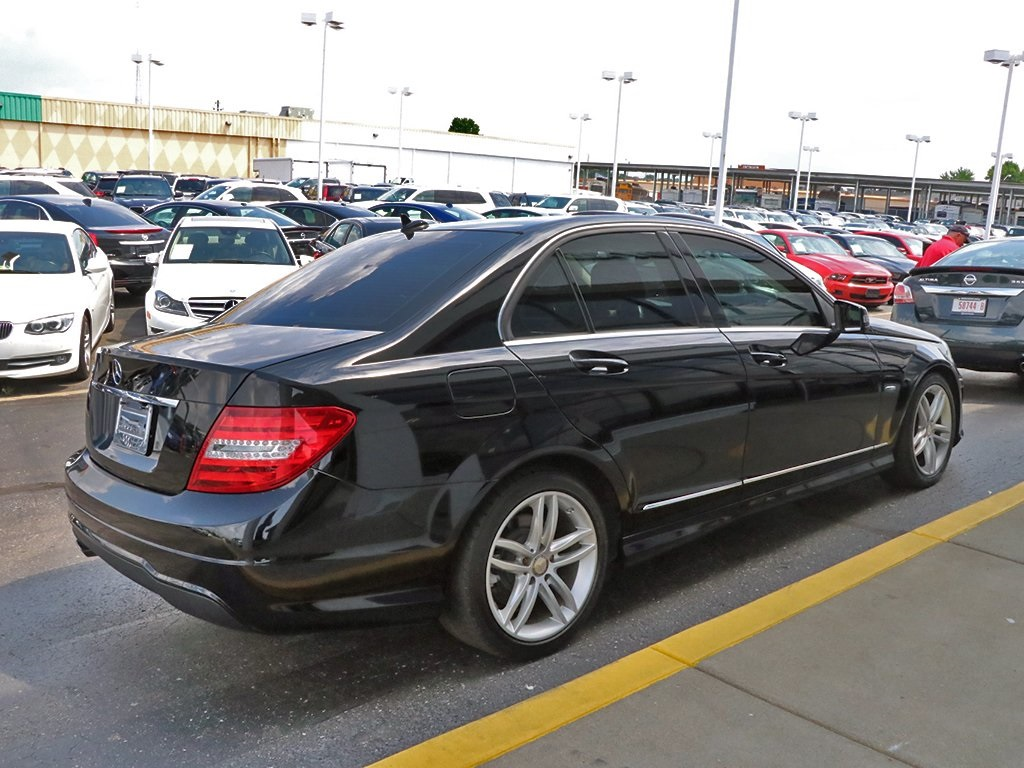 Pre Owned 2012 Mercedes Benz C Class C 250 Rwd 4d Sedan