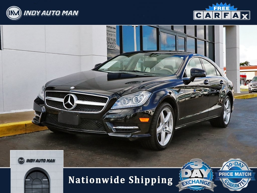 Mercedes Benz Indianapolis >> Pre Owned 2012 Mercedes Benz Cls Cls 550 With Navigation